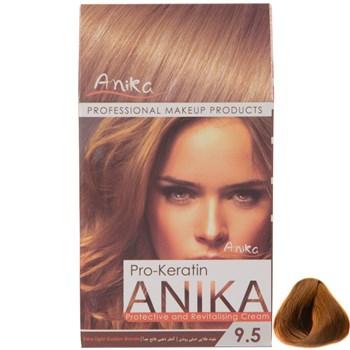 رنگ مو طبیعی آنیکا