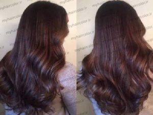 رنگ موی مارک jev