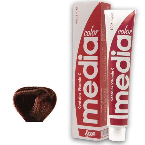 رنگ موی ترکیبی مدیا