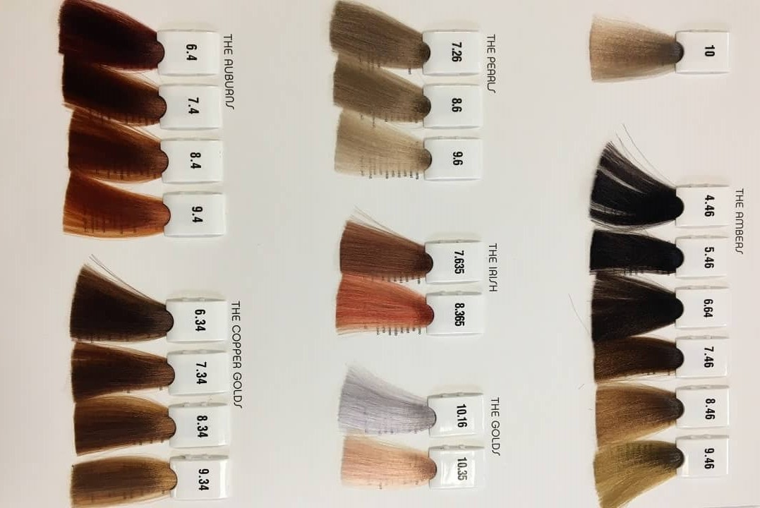 انواع رنگ مو فرامسی